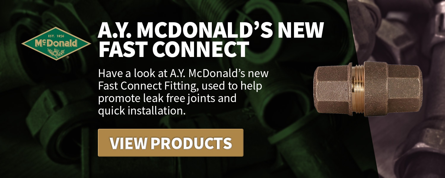 A.Y. McDonald's Fast Connect call to action