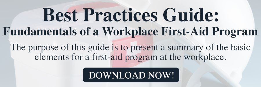 Osha Best Practices First Aid Guide