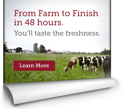 From Farm to Finish in 48 hours