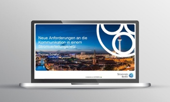 Vortrag Kommunikation Stromnetz Berlin