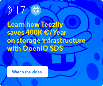 Learn how Teezily saves 400K €/Year on storage infrastructure with OpenIO SDS