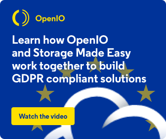 GDPR solutions with OpenIO and Storage Made Easy