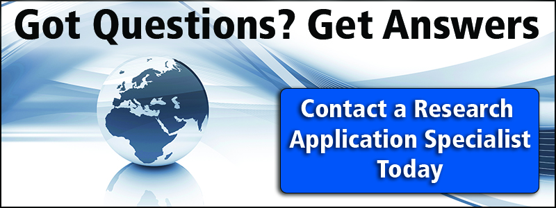Contact a Research Application Specialist Today