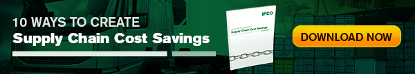 Supply chain cost savings