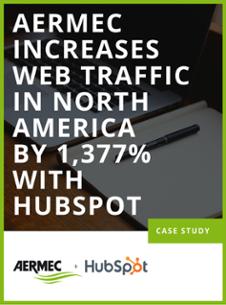 Aermec + HubSpot Case Study