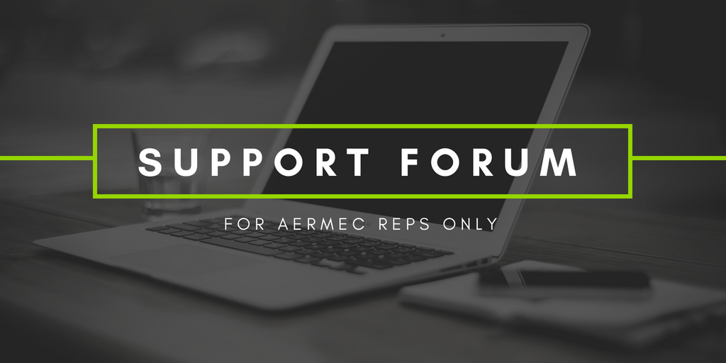 Aermec Support Forum