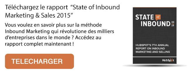 rapport hubspot state of inbound marketing 2015