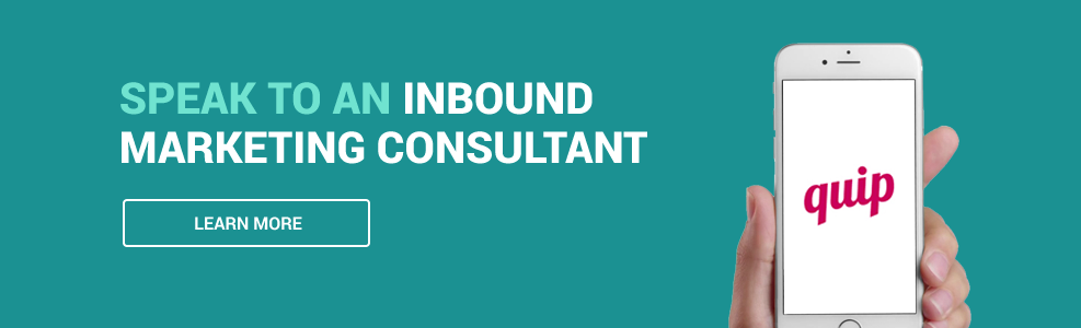 Speak to an inbound marketing consultant