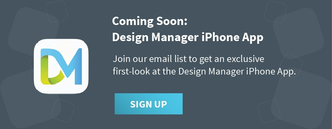 design manager iphone app beta list