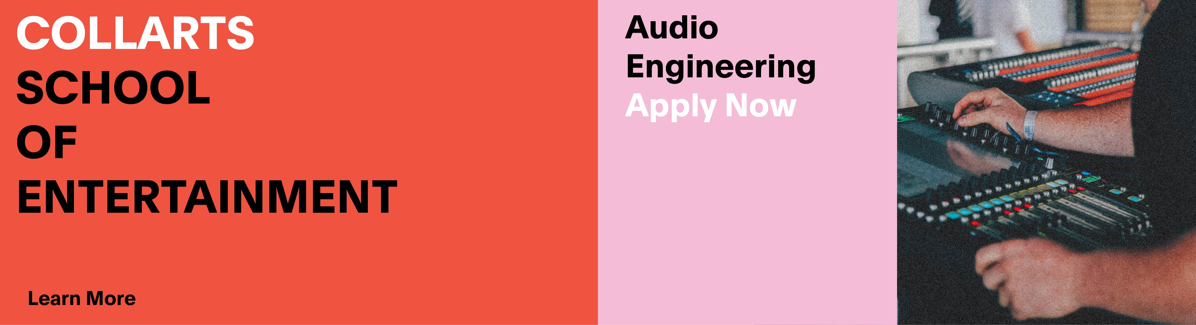 Audio Engineering - Apply Now