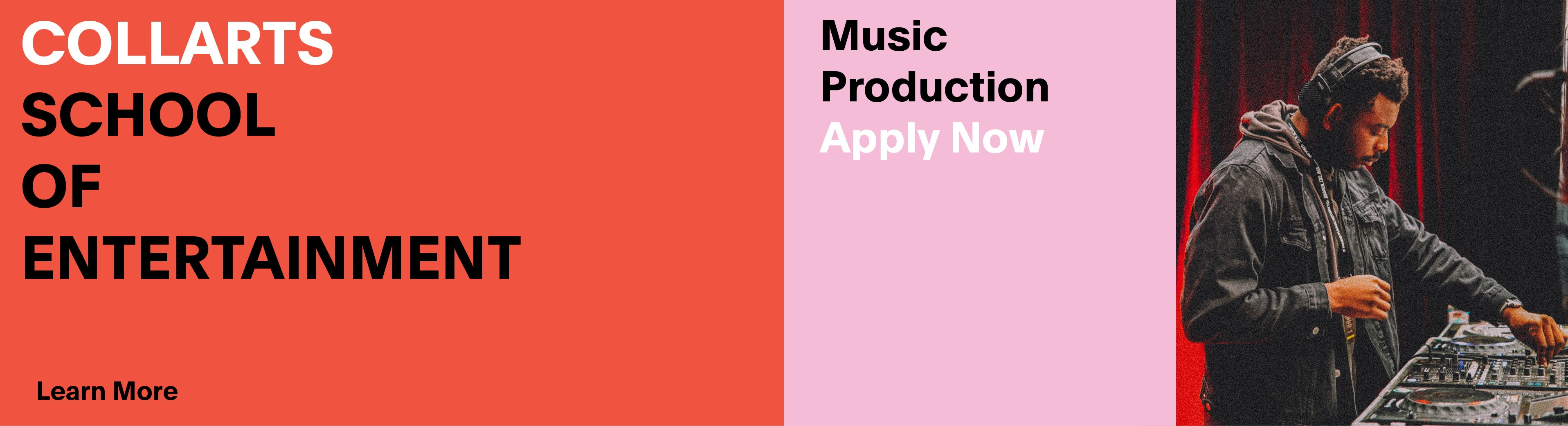 Music Production - Apply Now