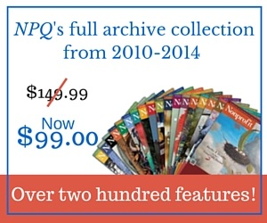 NPQ's Full Archive Collection