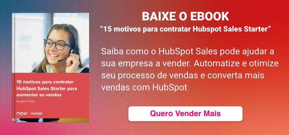 15 motivos para contratar HubSpot Sales Starter