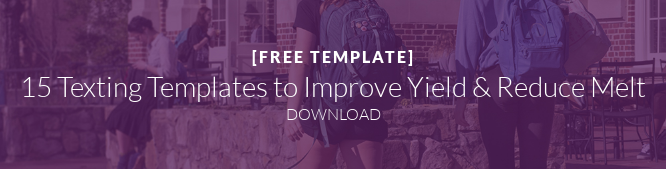 [FREE TEMPLATE]  15 Texting Templates to Improve Yield & Reduce Melt DOWNLOAD