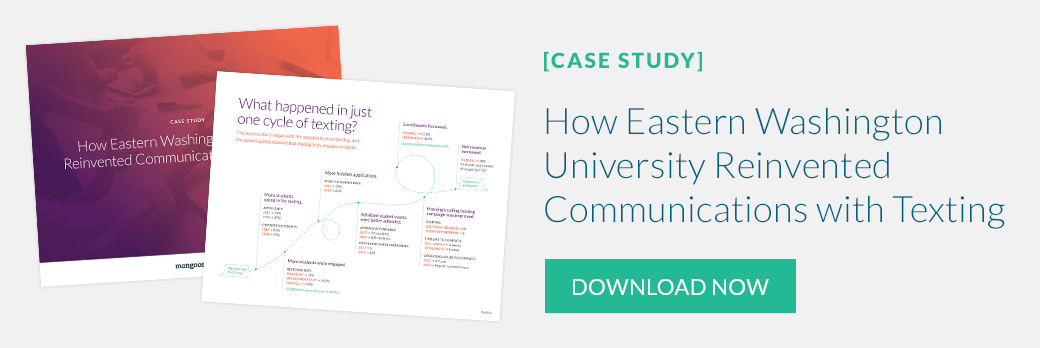 Case Study: How Eastern Washington University Reinvented Communications with Texting