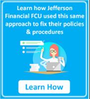 Jefferson Financial FCU Solves Procedure management problem