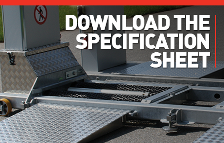 Download the Mobile Brake Tester specification sheet