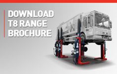Download TotalKare's T8 Range of Mobile Column Lifts brochure