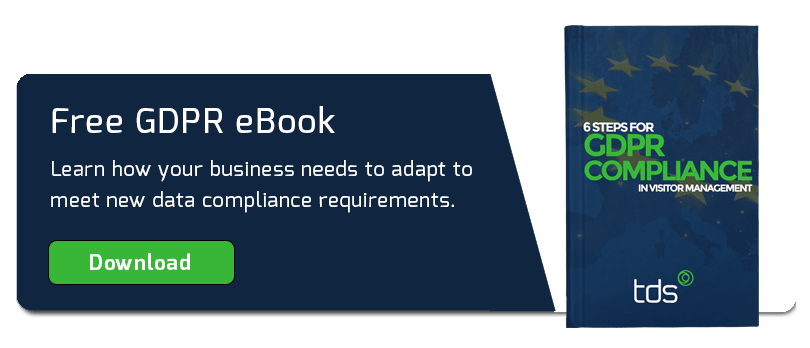 Download our eBook - 6 Steps to GDPR Compliant Visitor Management