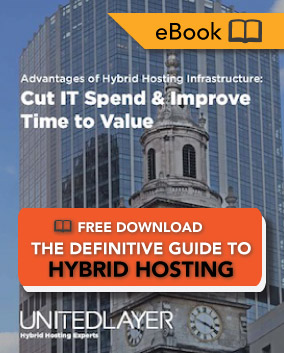 Cut IT Spend and Improve Time to Value - Download the Definitive Hybrid Hosting eBook FREE