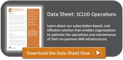 SCUID Operations Data Sheet