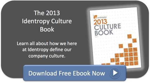 2013 Identropy Culture Book