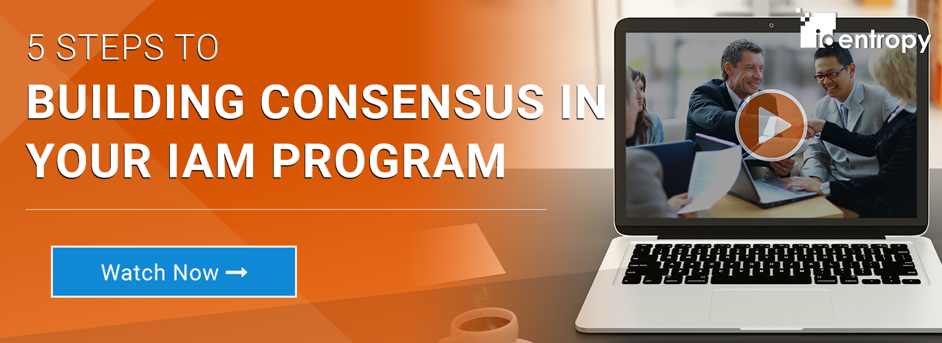 Building Consensus in Your IAM Program