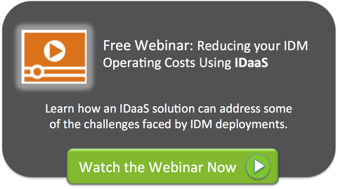 Reducing IDM Operating Costs Using IDaaS