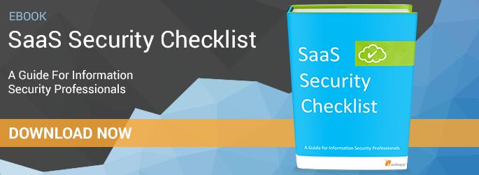Free eBook: SaaS Security Checklist