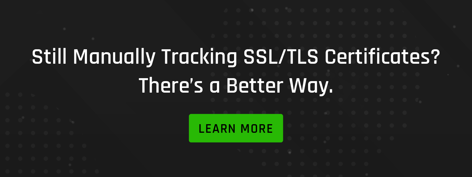 Automate Tracking of SSL/TLS Certificates Link