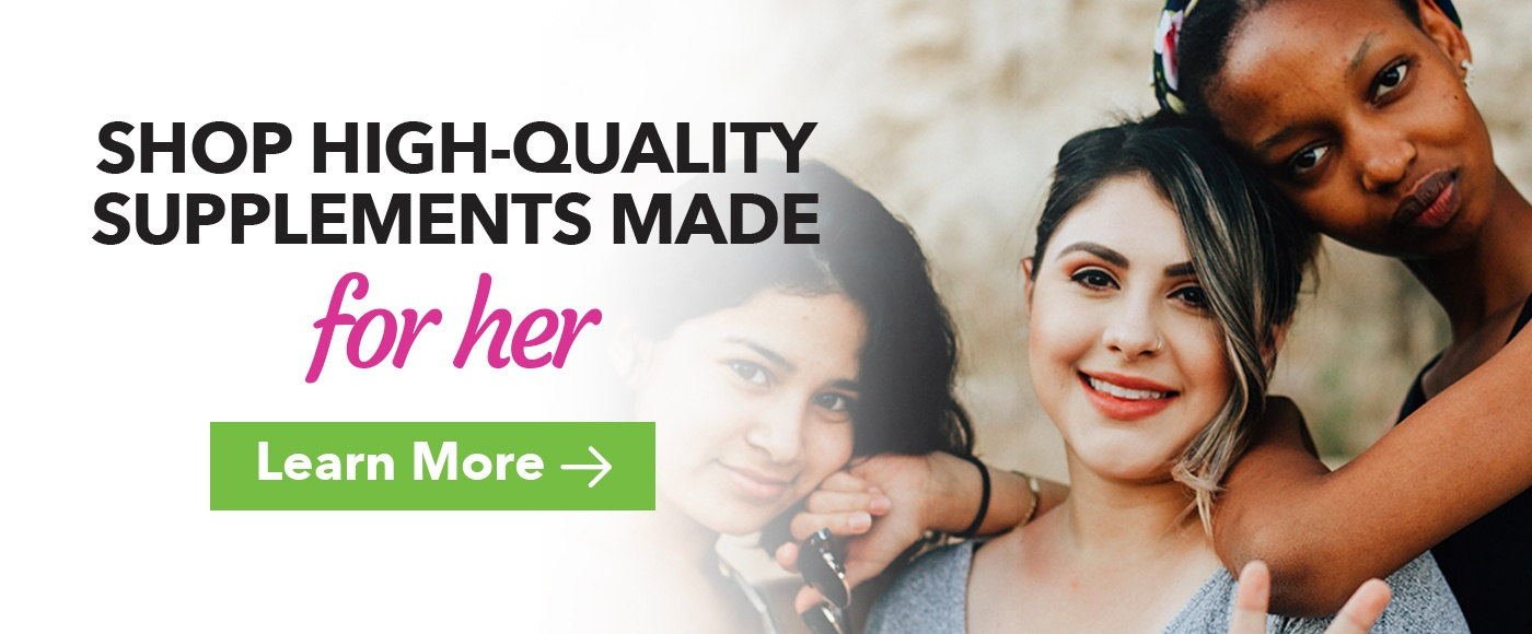 women's health guide supplements and nutrition
