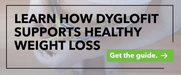 Dyglofit supports healthy weight loss