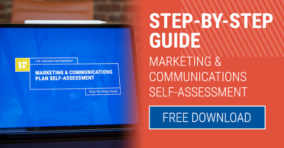 Download our free Marketing & Communications Plan Self-Assessment