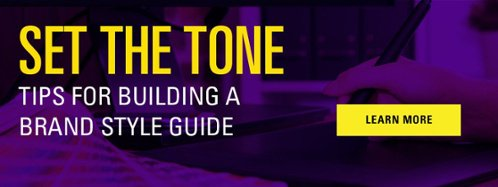 Set the Tone: JConnelly's Tips for Building a Brand Style Guide