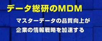 データ総研のマスターデータマネジメント(MDM)