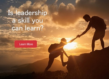Is leadership a skill you can learn?