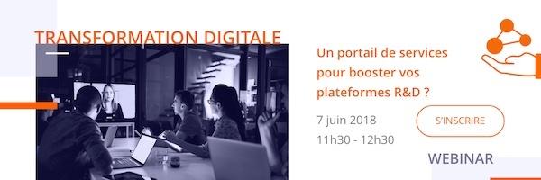 transformation digitale dans la recherche