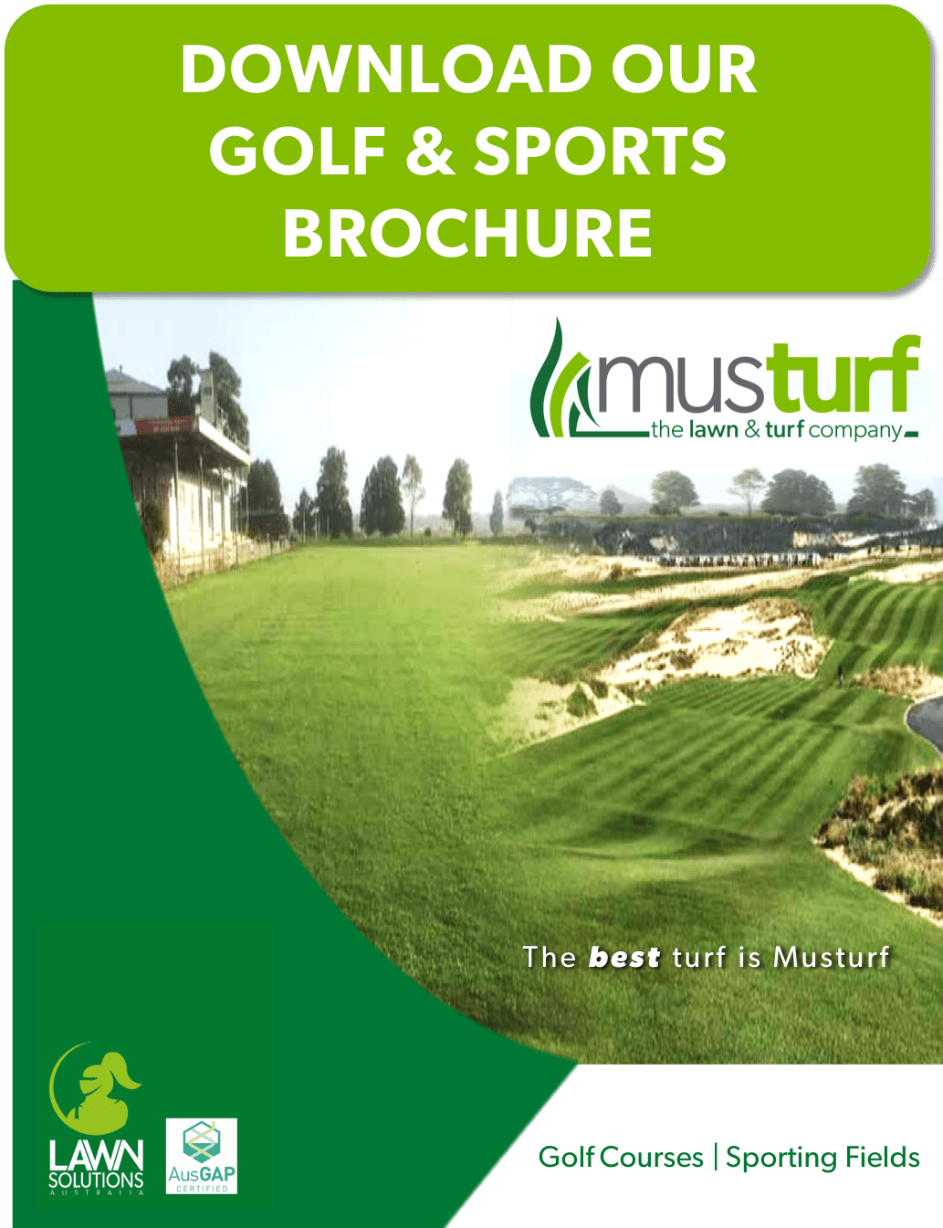 Lawn Supply Installation and Care Services | Golfing and Sports Industry