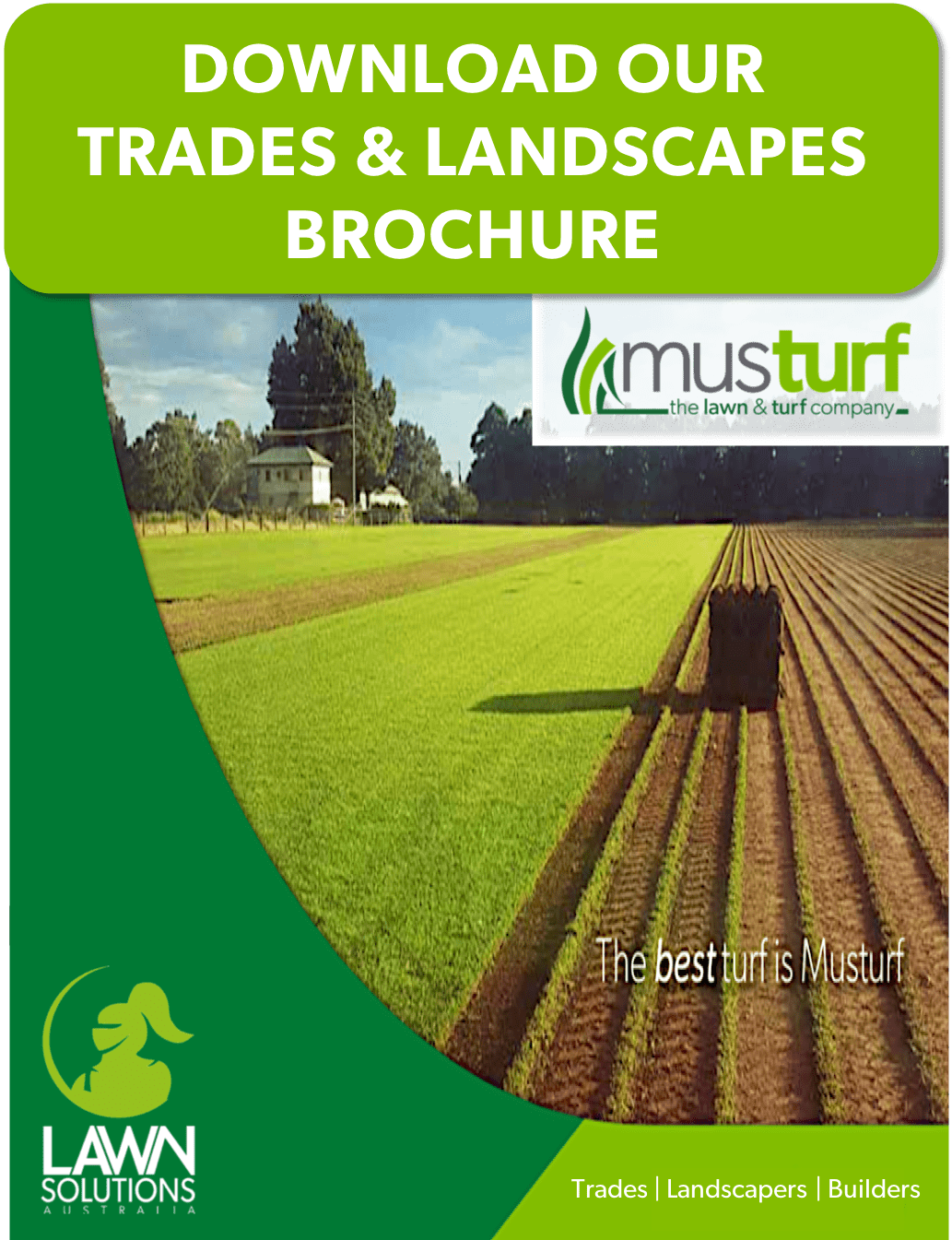 Lawn Supply Installation and Care Services | Trades Landscapers Builders