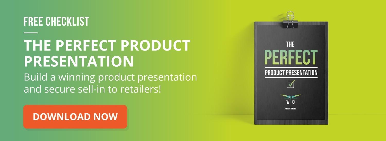 product presentation checklist for trade marketing