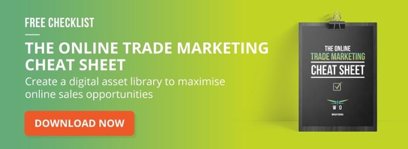 online trade marketing cheat sheet