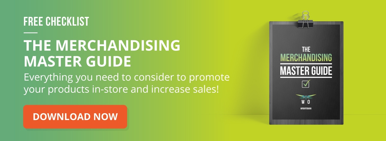 merchandising checklist for trade marketing
