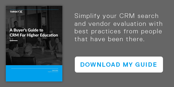 Buyer's Guide to CRM for Higher Ed Download Now