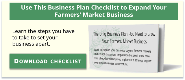 Farmers Market Business Plan Checklist