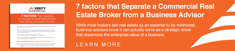 7 Factors that separate commercial real estate brokers and business advisors