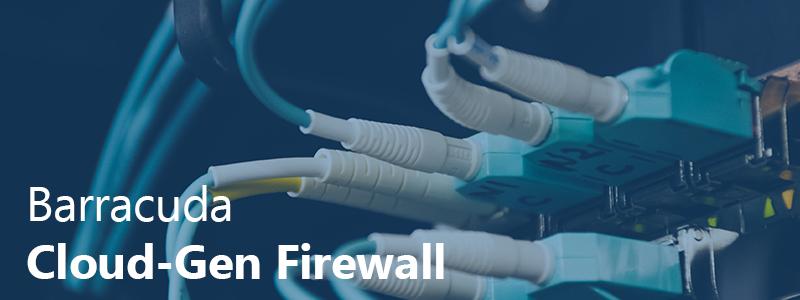 Barracuda Cloud Generation Firewall