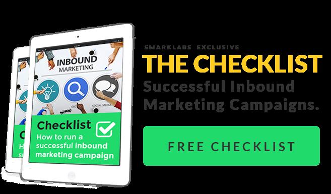 SmarkLabs Free Checklist Inbound Marketing Campaigns