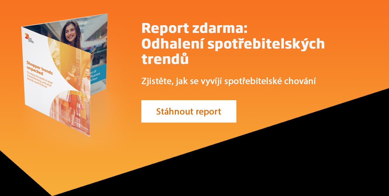 Odhalení spotřebitelských trendů - report ke stažení