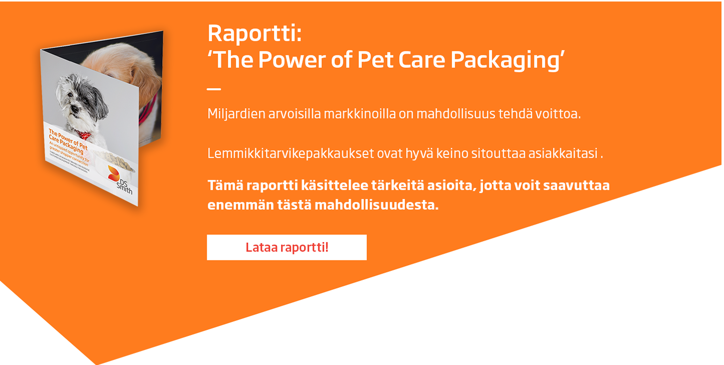 Download whitepaper The Power of Pet Care Packaging