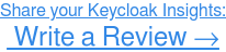 How do you rate Keycloak? Write a Review Now →